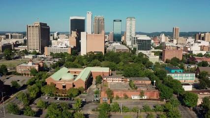 Fotomurales - Birmingham Alabama Downtown City Skyline Urban Landscape
