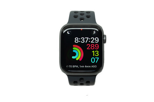 BANGKOK,THAILAND-NOVEMBER 11: View of Apple Watch 4 Nike Edition which just Launched this Month on November 11,2018