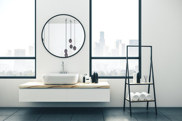 Wall Mural - Modern bathroom interior