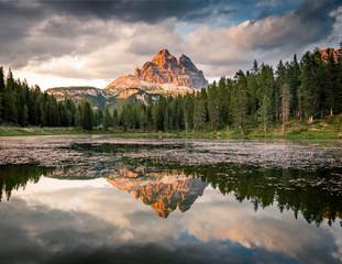 Fototapete - Tre Cime di Lavaredo Natural Park, Dolomites, South Tyrol, Italy