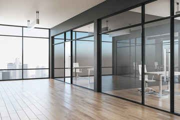 Fotomurales - Grey office interior