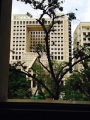 Campus Building at Chulalongkorn University in Bangkok, Thailand