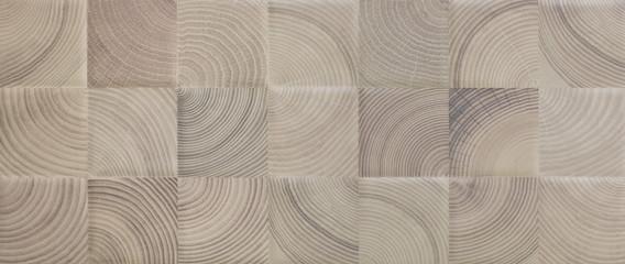 Fototapeta kitchen tile for floors, vintage mosaic wood pattern obraz