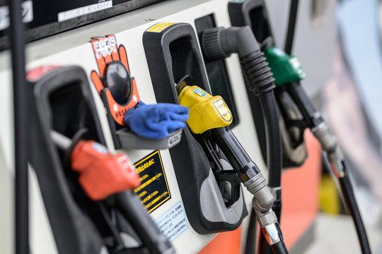 ガソリンの給油口