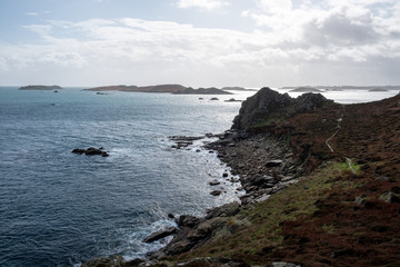 Island of st martins scilly isles