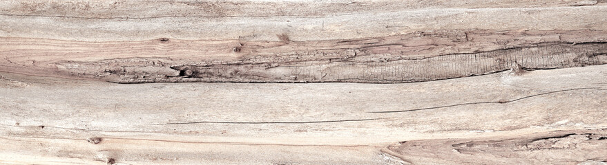 Aged and distressed natural beige wood texture background