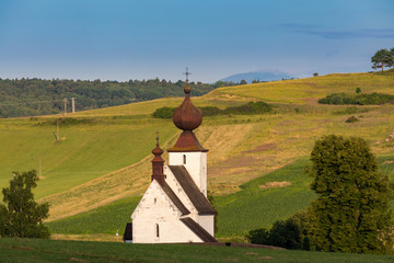 Wall Mural - church in Zehra, Spis region, Slovakia