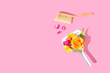 Spring Flowers - Spring Cleaning Concept
