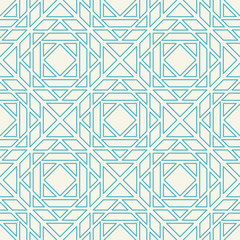 Vector Asian Linear Geometric Pattern
