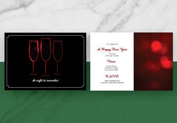 Minimalist Event Invitation Layout