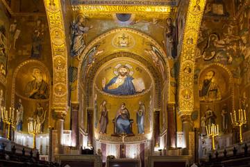 Photo sur Plexiglas Palerme Palermo - Cappella palatina