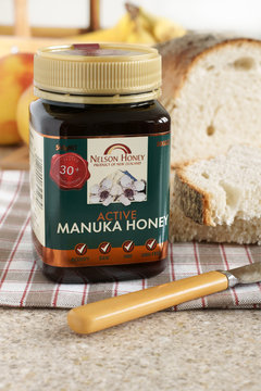Nelson's Manuka honey produced in New Zealand