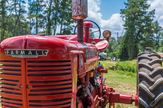 Front of Farmall Tractor