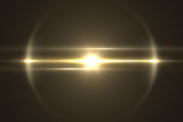 Lens flare light. overlays background