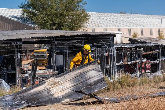 Firefighter Structure Wildland Interface Fires