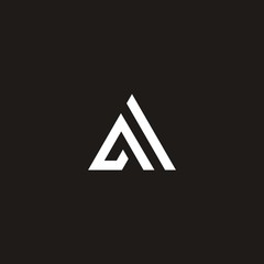 A C R letter vector logo abstract
