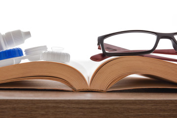 Different types of vision correction for reading books