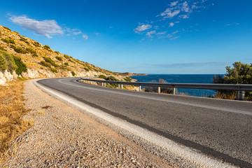 greek road by the sea-2