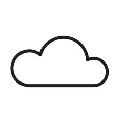 Cloud icon trendy design template