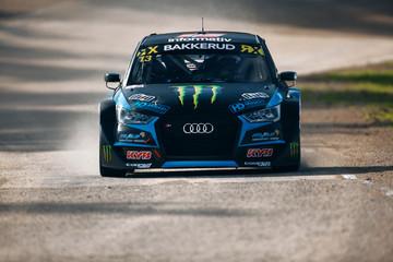 Andreas Bakkerud drive Audi S1 WRX