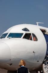 Crew airplane
