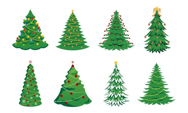 Cartoon Christmas Tree Photos Royalty Free Images Graphics Vectors Videos Adobe Stock This set of 18 high quality hand painted watercolor christmas trees. cartoon christmas tree photos royalty