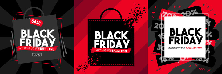 black friday vector graphic design