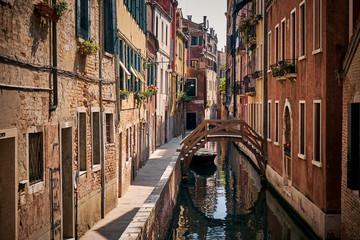 The landscape around Venice, Italy