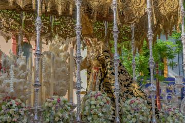 Wall Mural - Semana santa de Sevilla, Virgen de la esperanza de Triana