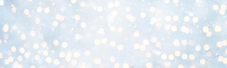 Panoramic Soft Christmas Background