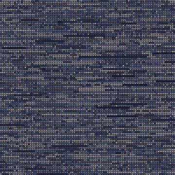 Knitted Marl Variegated Heather Texture Background. Denim Gray Blue Blended Line Seamless Pattern. For Woolen Fabric, Dyed Nordic Textile, Triblend Melange Scandi All Over Print. Vector Eps 10