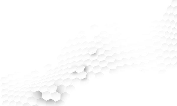 hexagon concept design abstract technology background vector EPS10