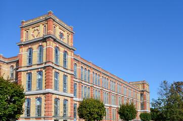 Historisches Fabrikgebäude in Augsburg