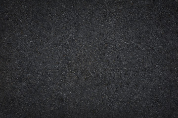 Black asphalt floor or road texture background.