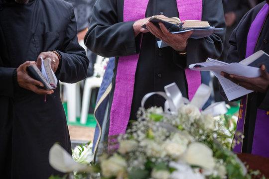 Three Anglican priest