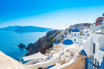 Photo sur Aluminium Santorini view of santorini island greece