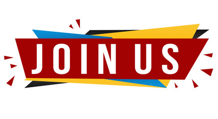 Join us banner design
