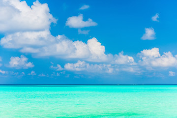 美しい宮古島の海 Beautiful beach in Miyakojima Island, Okinawa.