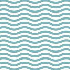 Wall Mural - Wave lines pattern background