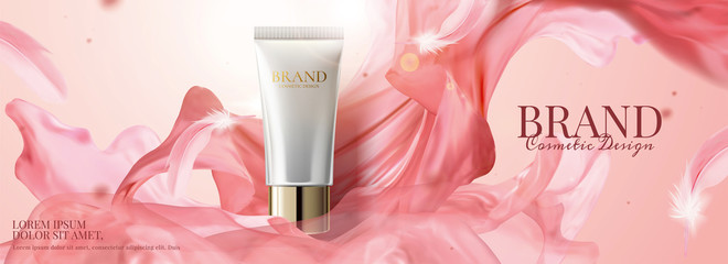 Skincare product banner ads