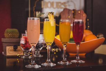 Sunday brunch cocktails