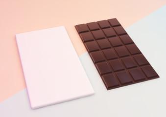 cocolate bar packaging mockup
