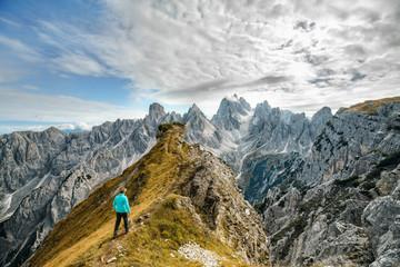 Wall Mural - auf den Gipfel klettern