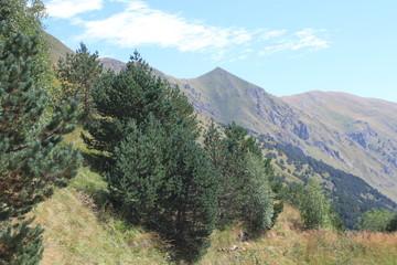 Spoed Foto op Canvas Khaki mountain landscape
