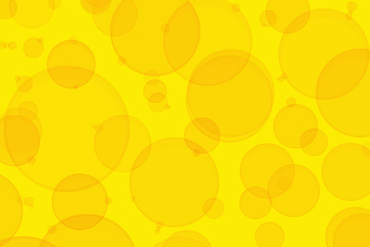 abstract background with yellow circles vector sparkle
