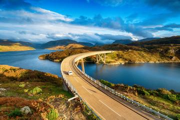 Wall Mural - The Kylesku Bridge in Scotland