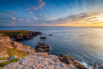 Wall Mural - Sunset from Stoer Head
