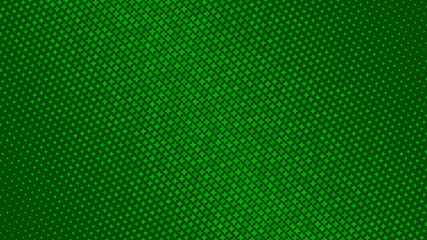 Abstract halftone gradient background of small stars, in green colors Wall mural