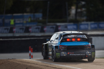 Audi S1 WRX Monster Energy jump