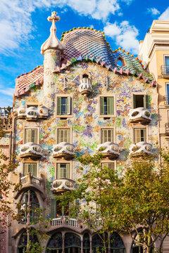 Casa Batllo building in Barcelona